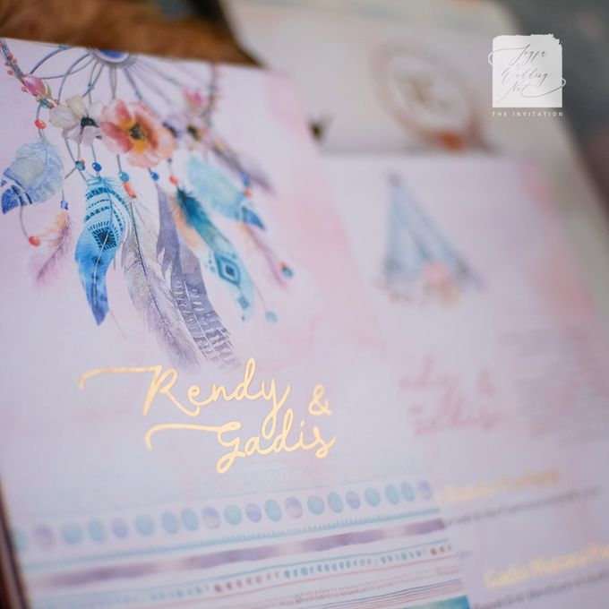 Mirror Wedding Invitation - RENDY & GADIS by Jogja Wedding Net - 003