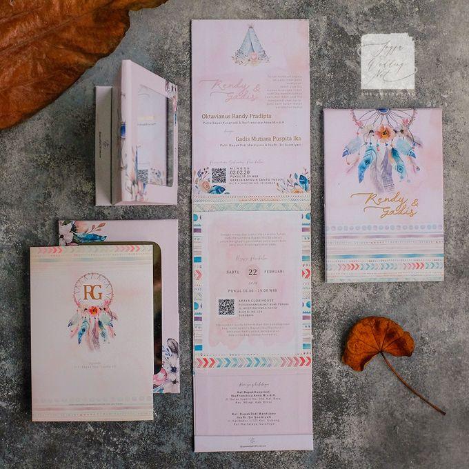 Mirror Wedding Invitation - RENDY & GADIS by Jogja Wedding Net - 005