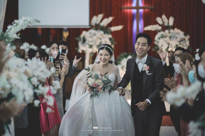 The Wedding Of Andri & Deborah by El-Bethel Event Organizer - 008