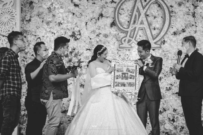The Wedding Of Andri & Deborah by El-Bethel Event Organizer - 014