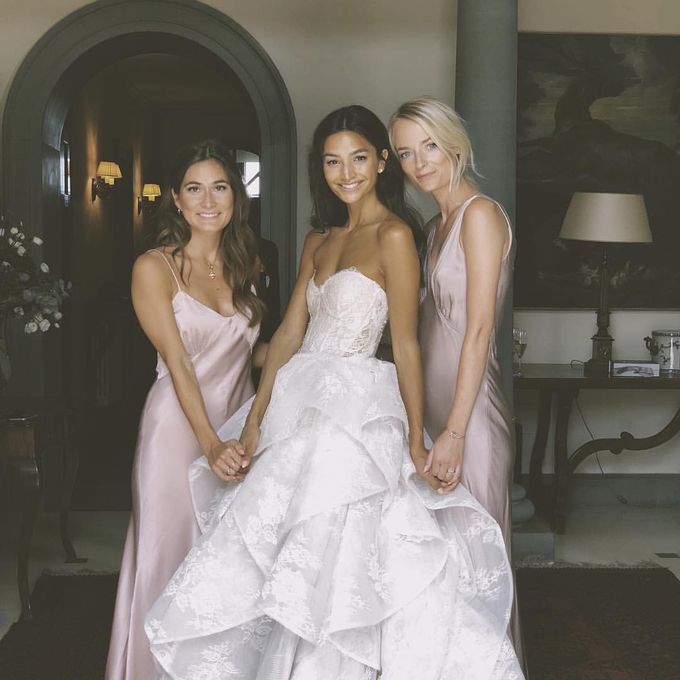 Danielle Wedding At Tuscany by Bridal Luxury Beauty Service - 003