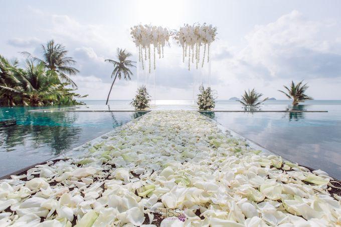 Zou Yiming and Wu Yu wedding at Conrad Koh Samui by BLISS Events & Weddings Thailand - 006