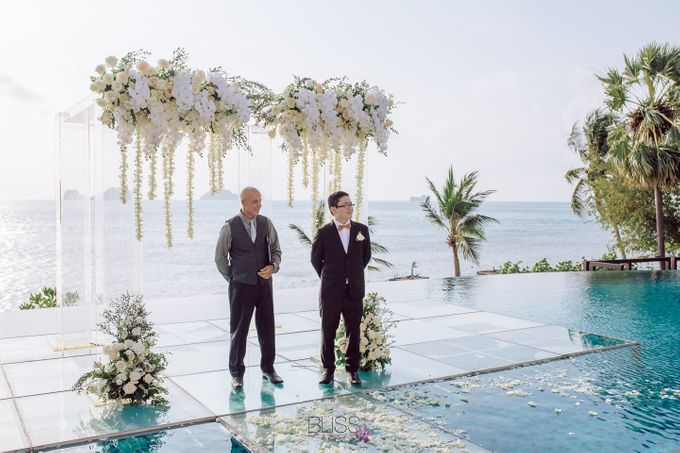 Zou Yiming and Wu Yu wedding at Conrad Koh Samui by BLISS Events & Weddings Thailand - 007