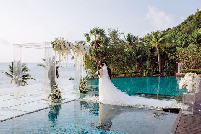 Zou Yiming and Wu Yu wedding at Conrad Koh Samui by BLISS Events & Weddings Thailand - 008