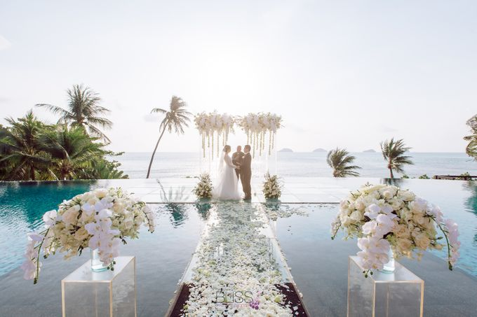 Zou Yiming and Wu Yu wedding at Conrad Koh Samui by BLISS Events & Weddings Thailand - 009