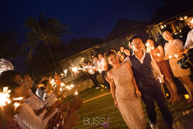 A wonderful rustic style wedding at Jivana villas Natai beach by BLISS Events & Weddings Thailand - 011