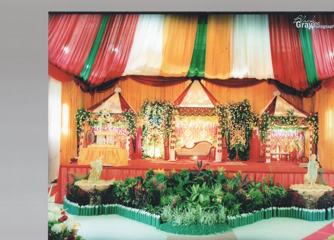 Tambahkan ke board salon ratu decoration by salon ratu samarinda 004