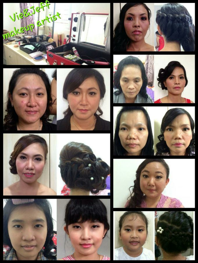 Family makeup n Gown by The Bride House - 040
