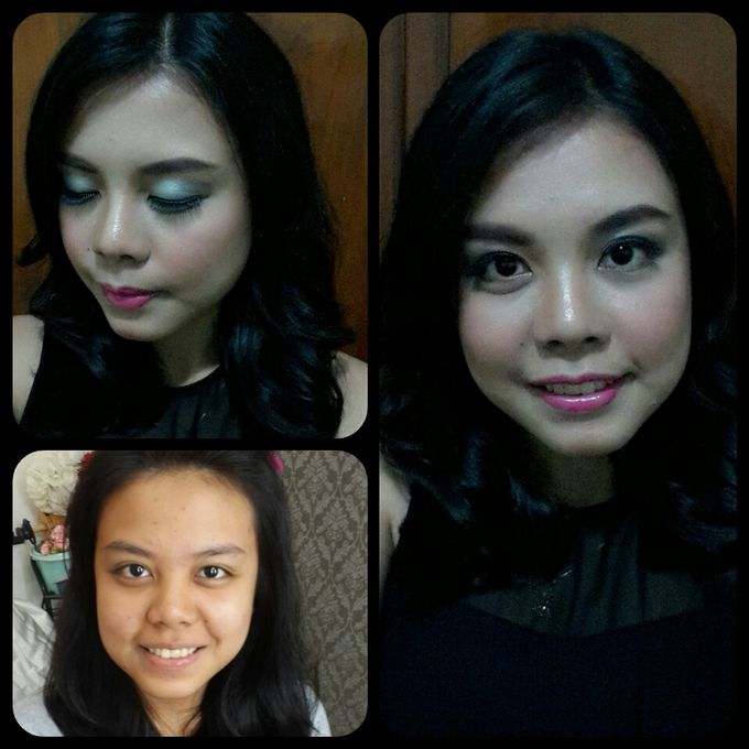 Family makeup n Gown by The Bride House - 041