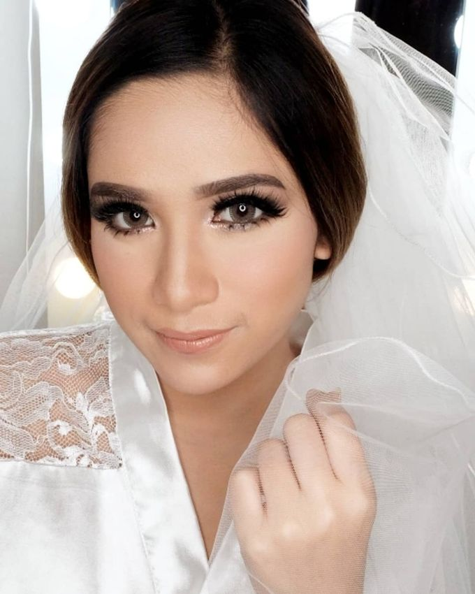 Cempaka (Wedding Airbrush Makeup) by MarisaFe Bridal - 001