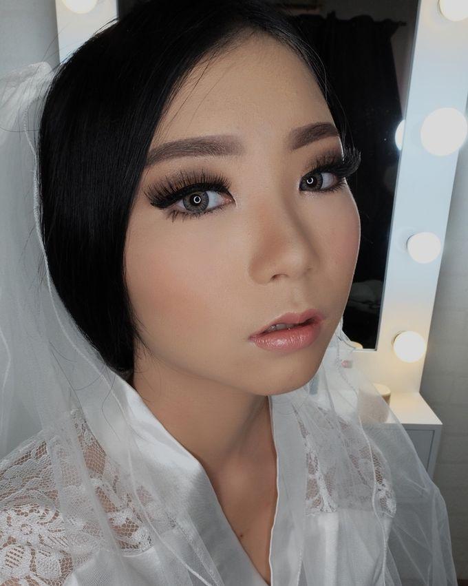 Linda (Wedding Airbrush Makeup - Monolid) by MarisaFe Bridal - 006