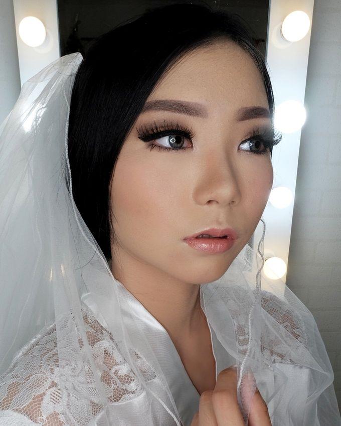 Linda (Wedding Airbrush Makeup - Monolid) by MarisaFe Bridal - 004
