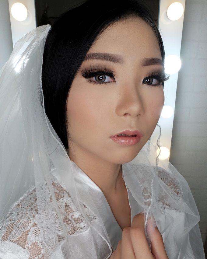 Linda (Wedding Airbrush Makeup - Monolid) by MarisaFe Bridal - 005