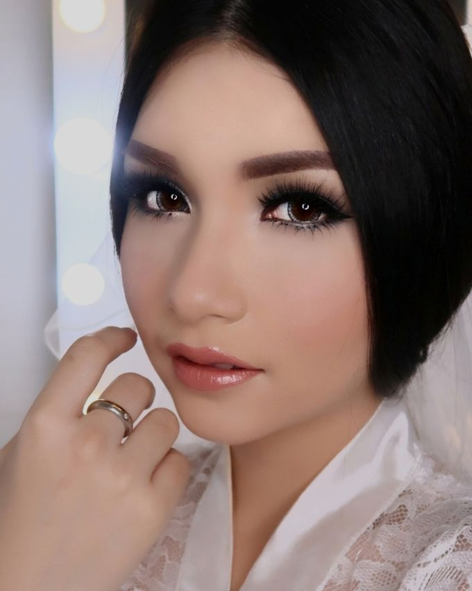 Ms. Ivy (Wedding Airbrush Makeup) by MarisaFe Bridal - 003