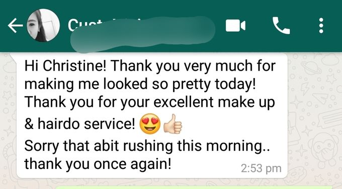 Happy Clients Compliments and Feedbacks by Makeupwifstyle - 004