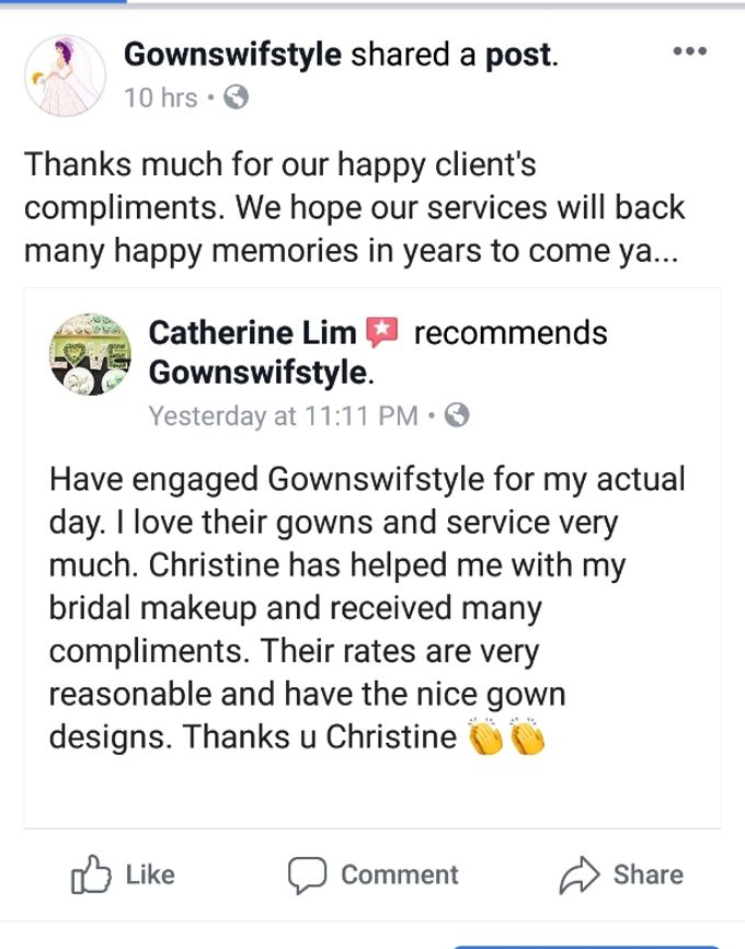 Happy Clients Compliments and Feedbacks by Makeupwifstyle - 007