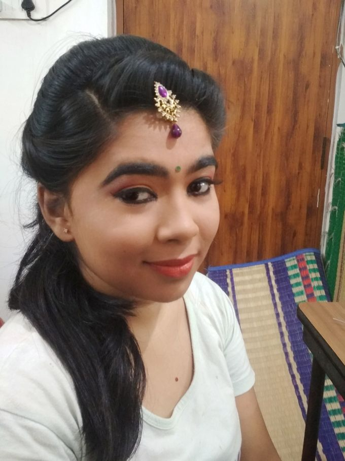 Reception Look Light Makeup by Anjalisri Makeover - 004