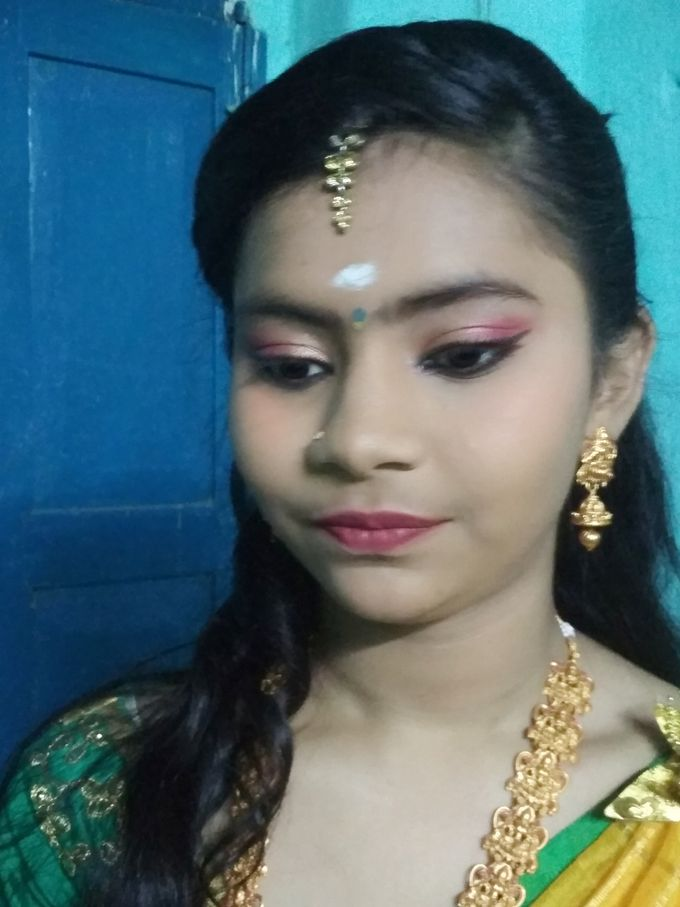 Reception Look Light Makeup by Anjalisri Makeover - 010