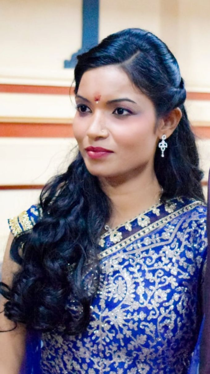 Reception Look Light Makeup by Anjalisri Makeover - 005