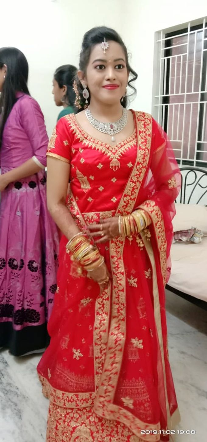 Reception Look Light Makeup by Anjalisri Makeover - 006