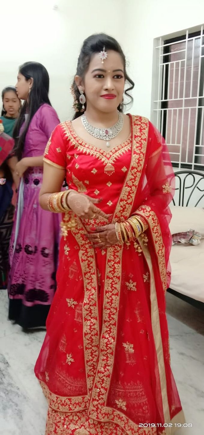 Reception Look Light Makeup by Anjalisri Makeover - 002