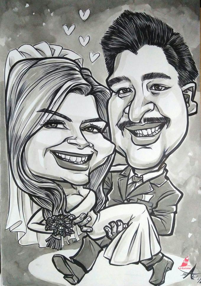 Wedding Souvenir by Bali Karikatur - 015