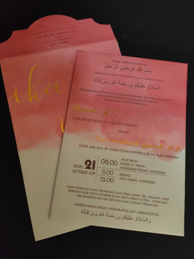 ika & iman invititation by xime wedding card - 001