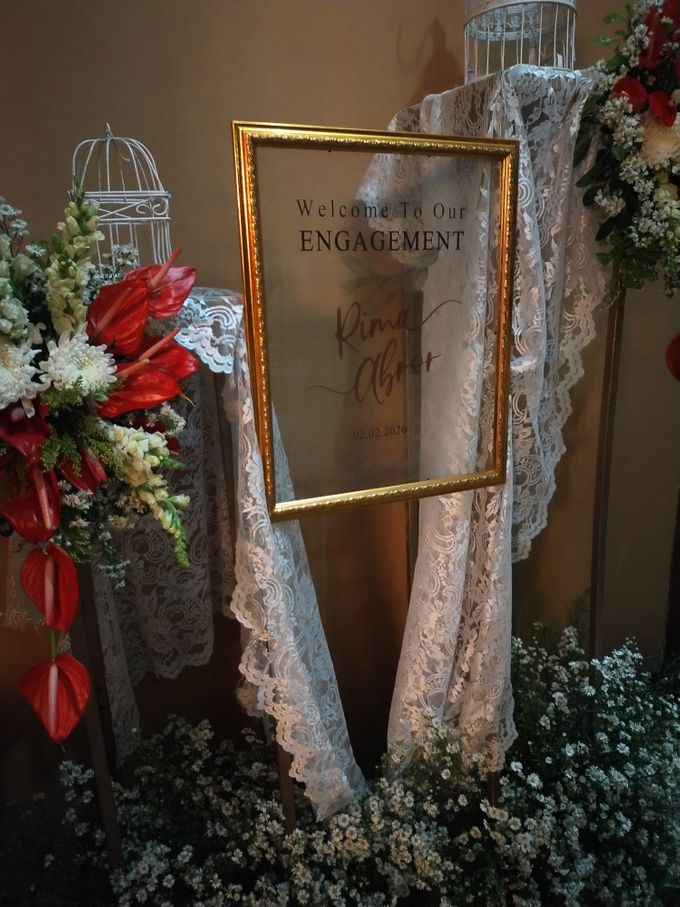 Engagement - Abror & Rima by Charissa Event & Wedding Decoration - 001