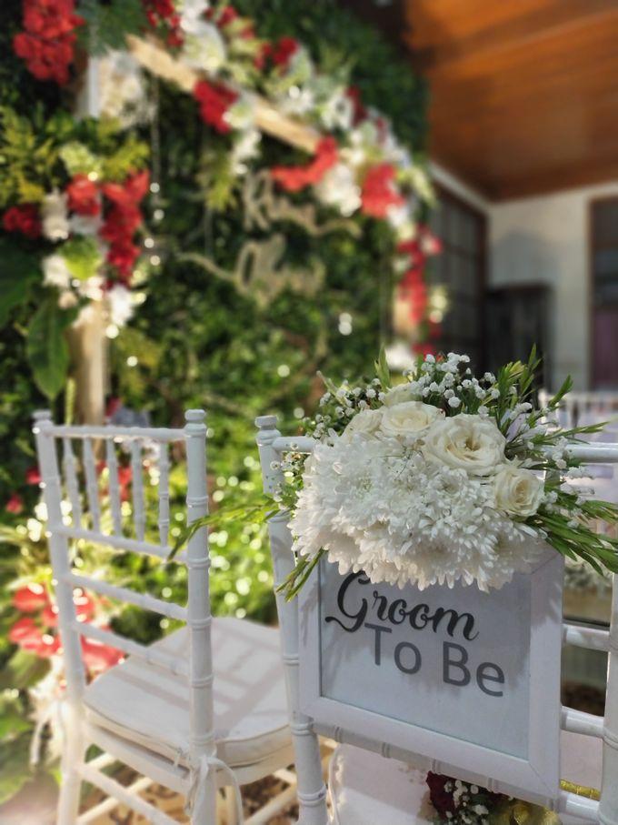 Engagement - Abror & Rima by Charissa Event & Wedding Decoration - 003