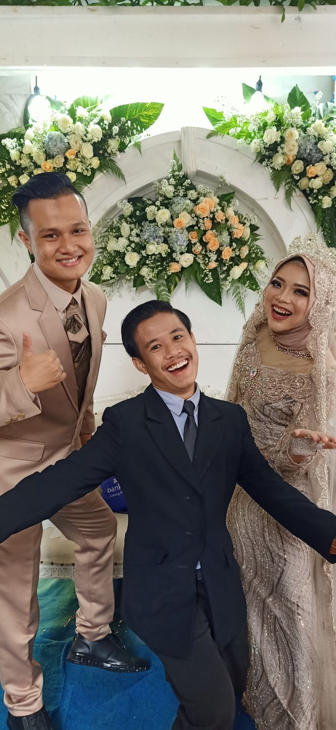 Akad dan Resepsi Pernikahan Rifan Adrian dan Nur Riszeki Amalia by Panji Nugraha MC - 004