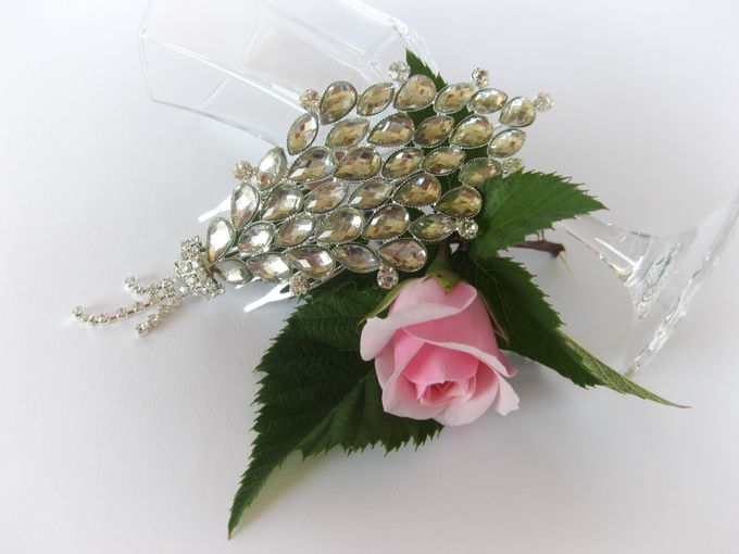 Bridal Hair Comb by Pamela Falli - 004