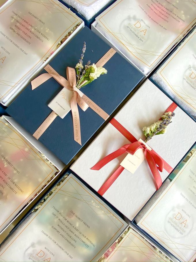 Bridesmaids and Groomsmen Gift Boxes for Delon & Aida by The Soap Patisserie - 001
