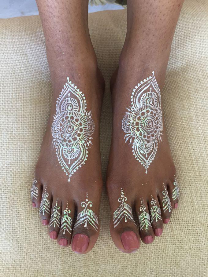 Henna service on Myrin and Sarnia Wedding by Nirvana Henna by Shinta - 006