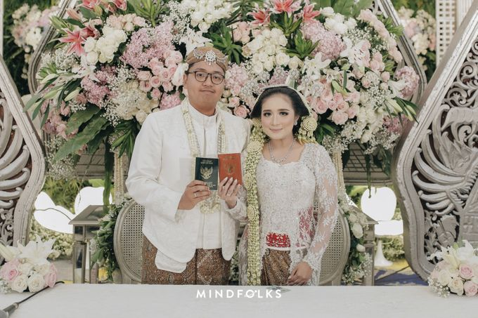 JAVANESE AKAD OF FIFI & IAN by Dwi Tunggal Citra Catering - 008