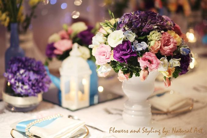 Reception Styling by Natural Art Flowers and Decors - 012