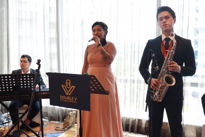 Entertainment Sangjit Raffles Hotel Jakarta - Double V Entertainment by Raffles Jakarta - 004