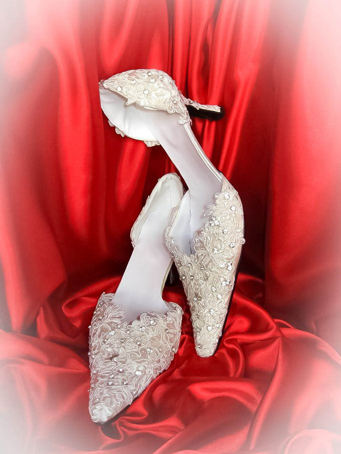 BRIDAL SHOES by Pamela Falli - 041