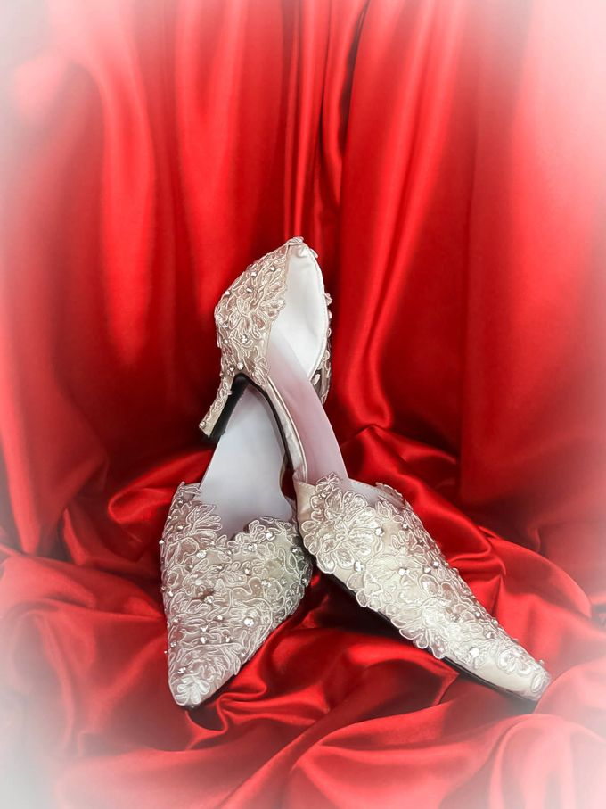 BRIDAL SHOES by Pamela Falli - 042