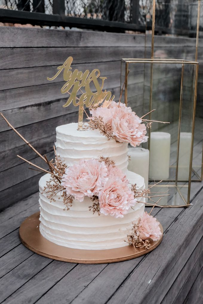 The Wedding of Ayu & Kevin by KAIA Cakes & Co. - 007