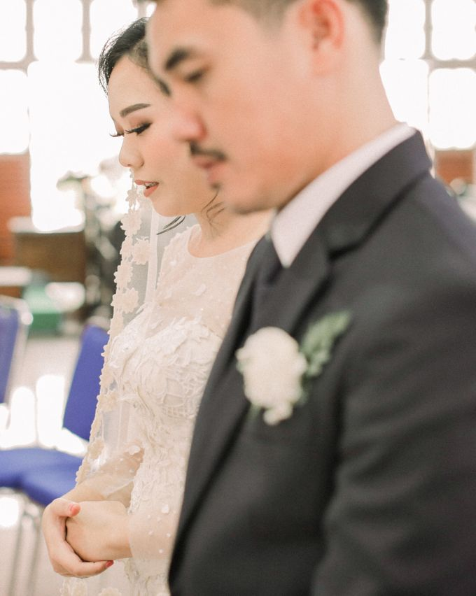 Real intimate wedding on pandemic 2020 MARIA & GALUNG by Kimus Pict - 021