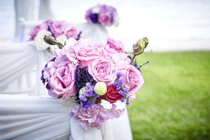 Purple Lilac  Navy and Gold wedding by Samui Weddings and Events - 001