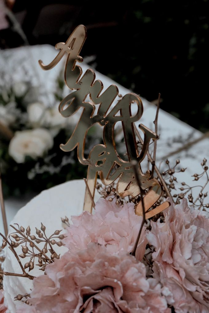 The Wedding of Ayu & Kevin by KAIA Cakes & Co. - 009