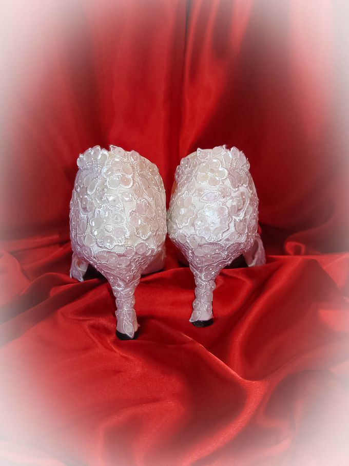 BRIDAL SHOES by Pamela Falli - 035