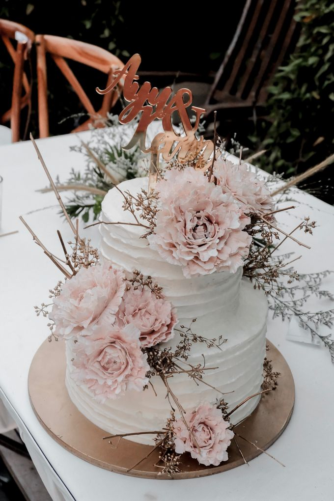 The Wedding of Ayu & Kevin by KAIA Cakes & Co. - 014