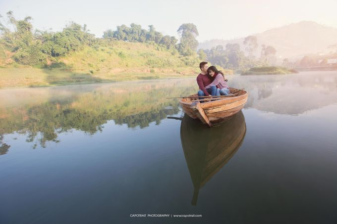 Ryandi and Lea Prewedding by Capotrait Photography - 002