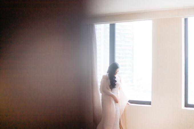 Wedding of Renno & Angeline by Mandarin Oriental, Jakarta - 005