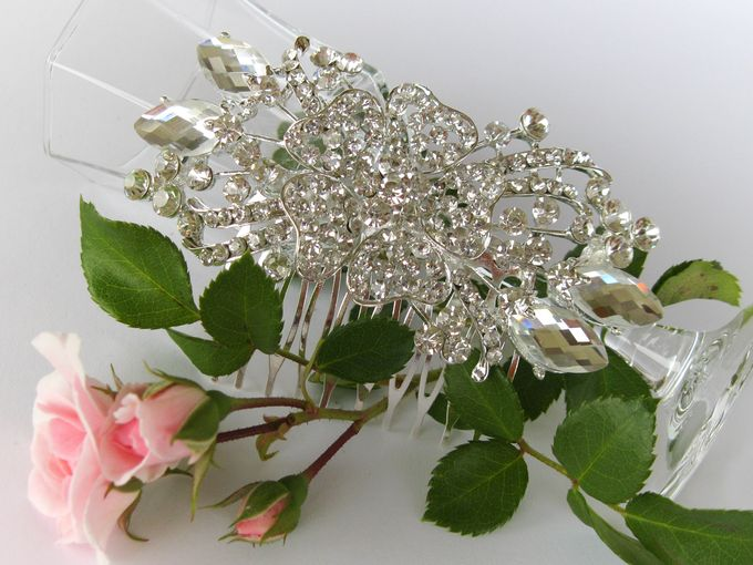 BrIdal Jewelry-Hair Combs by Pamela Falli - 004