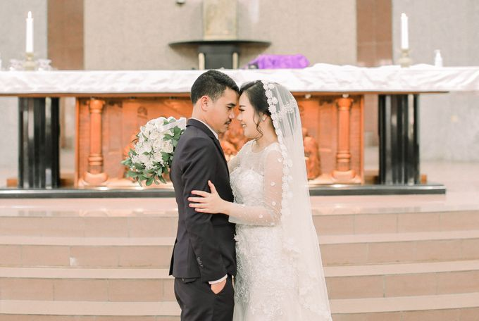 Real intimate wedding on pandemic 2020 MARIA & GALUNG by Kimus Pict - 023