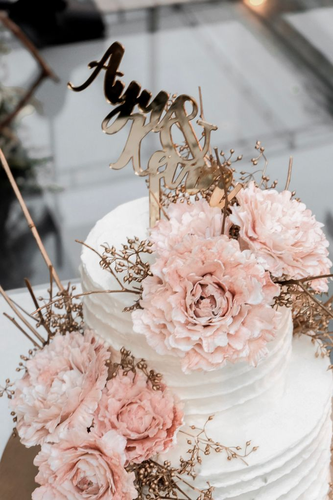 The Wedding of Ayu & Kevin by KAIA Cakes & Co. - 002