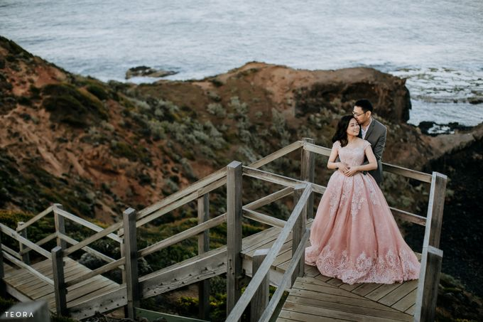Henry & Milla Melbourne Prewedding by attelia bridal - 004